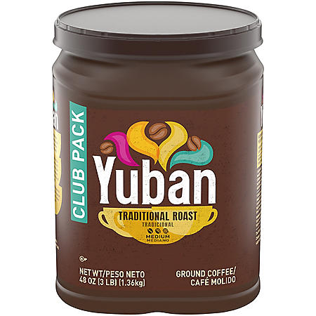 Yuban Ground Coffee, Traditional Roast (48 oz.)
