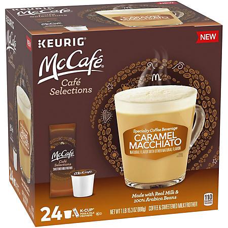 McCafe Caramel Macchiato K-Cup Coffee Pods (24 ct.)