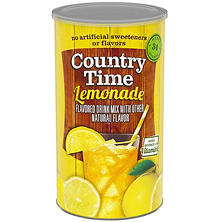 Country Time Lemonade Mix - 34 Quart Drink Mix
