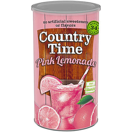 Country Time Pink Lemonade Mix (82.5oz)