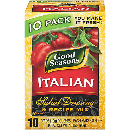 Good Seasons Dry Mix Italian Salad Dressing (0.07 oz., 10 pk.)