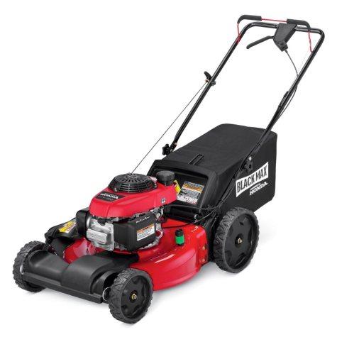 "Black Max 21"" 160cc Front Wheel Drive Mower Powered by Honda"