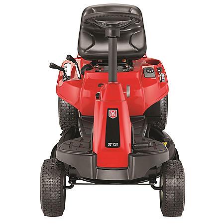 "Yard Machines 30"" Riding Lawn Mower with Mulch Kit (10.5-HP, 344cc)"