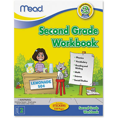 Mead Second Grade Comprehensive Education Workbook Science/Mathematics/Social Studies