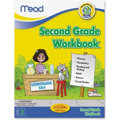 Mead Second Grade Comprehensive Education Workbook Science/Mathematics/Social Studies