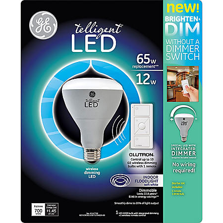 WIRELESS DIMMING LED LED BULB & CONTROL