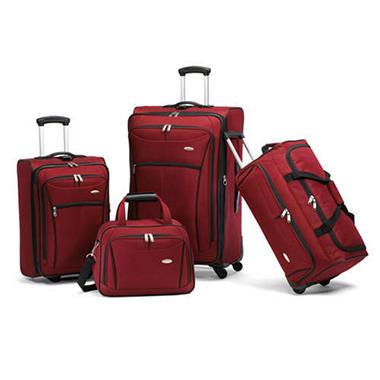 Samsonite Luggage Set- 4 piece - Sam's Club