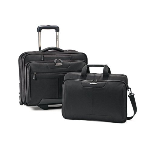 SAMSONITE 2 PIECE MOBILE OFFICE