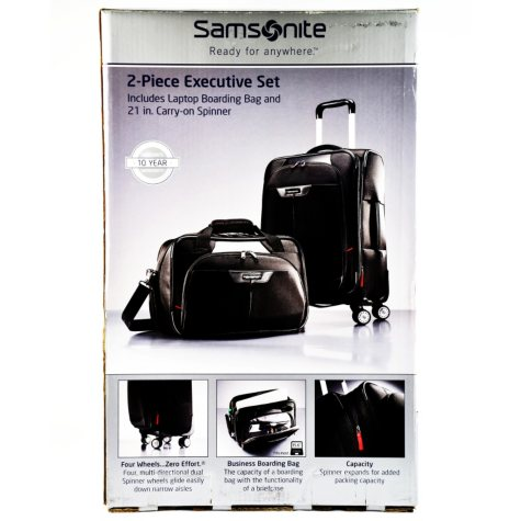 """2 PIECE LUGGAGE SET 21"""" CARRY-ON"""