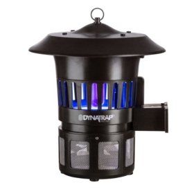 Dynatrap Insect Trap with 2 Replacement UV Bulbs