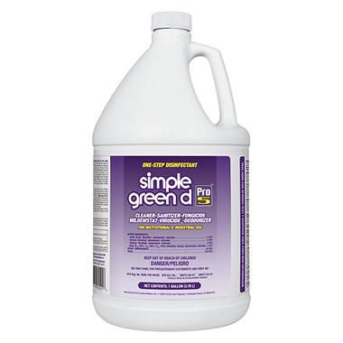 Simple Green d Pro 5 One-Step Disinfectant (128 oz.)