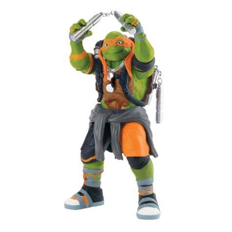"""Teenage Mutant Ninja Turtles Movie 2, 11"""" Figure Michelangelo"""