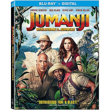 Jumanji (Blu-ray + Digital)