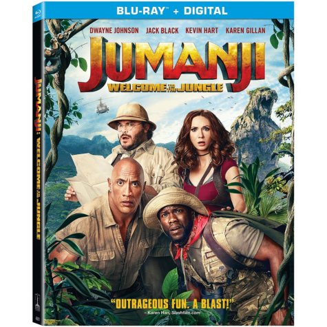 Jumanji (Blu-ray + Digital)