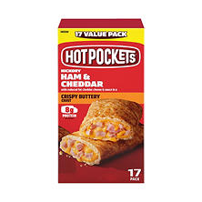 Hot Pockets Stuffed Sandwiches, Ham & Cheese (4.5 oz., 17 pk.)