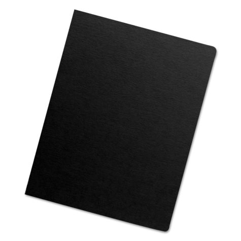 Fellowes - Executive Presentation Binding System Covers, 11-1/4 x 8-3/4, Black -  200/Pack