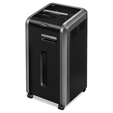 Fellowes - Powershred 225i 100% Jam Proof Strip-Cut Shredder -  20 Sheet Capacity