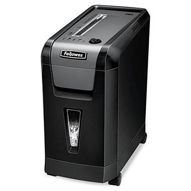 Fellowes - Powershred 69Cb Deskside Cross-Cut Shredder -  10 Sheet Capacity
