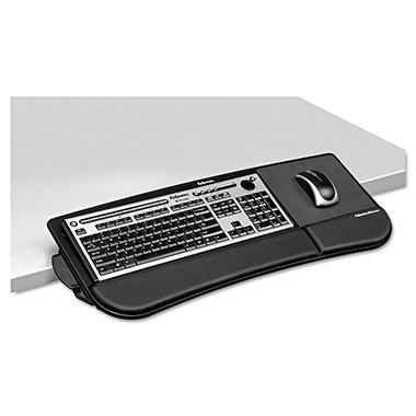 Fellowes Tilt 'N Slide Keyboard Manager, 19-1/2 x 11-7/8 - Black