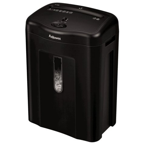 Fellowes Powershred 11C Cross-Cut Shredder, 11-Sheet Capacity