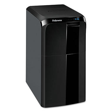 Fellowes AutoMax 300CL Auto Feed Cross-Cut Shredder, 300 Sheet Capacity