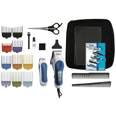 Wahl deluxe color pro hair cut and style kit sams club wahl deluxe color pro hair cut and style kit solutioingenieria Gallery