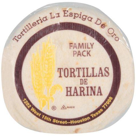 La Espiga De Oro Flour Tortillas - 3/22oz