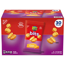 Nabisco Ritz Bits Cheese Cracker Sandwiches (1.5 oz. packs, 30 ct.)