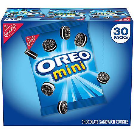 Nabisco Mini Oreo Chocolate Sandwich Cookies (1.5 oz., 30 ct.)