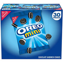 Nabisco Mini Oreo Chocolate Sandwich Cookies (1.5 oz. ea., 30 pk.)