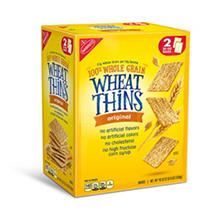Nabisco Wheat Thins Original Crackers (20 oz. bags, 2 ct.)