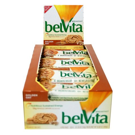 belVita Golden Oat Breakfast Biscuits (8 pk. 4 ct.)