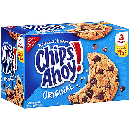 CHIPS AHOY! Chocolate Chip Cookies (3 pk.)