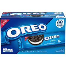 Nabisco Oreo Chocolate Sandwich Cookies (2.4 oz. ea., 30 pk.)