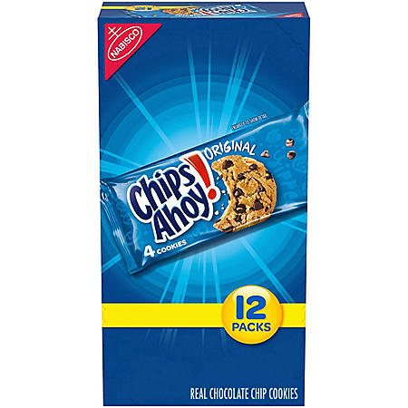 Nabisco Chips Ahoy! Cookies (1.55oz / 12pk)
