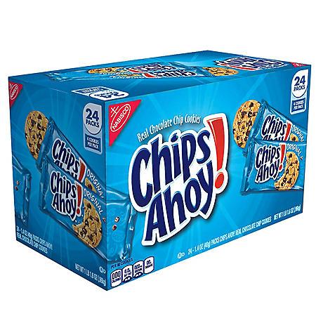 CHIPS AHOY! Original Chocolate Chip Cookies (1.55 oz., 24 pk.)
