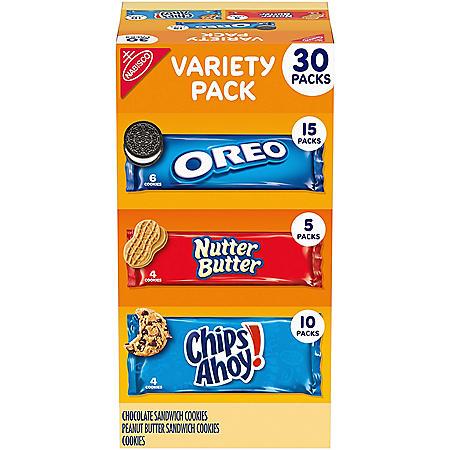 Nabisco Cookie Variety Packs (30 pk.)