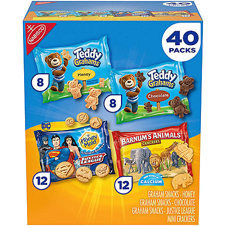 Nabisco Variety Pack, Honey Maid, Barnum's & Teddy Grahams