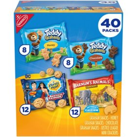Nabisco Fun Shapes Snack Cookies Variety Pack (40 ct.)
