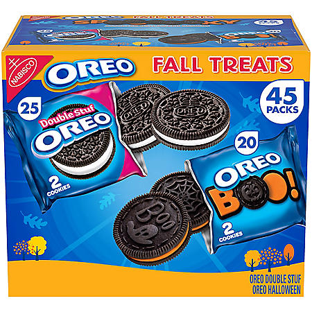 OREO Fall Treats Variety Pack Sandwich Cookies (45 pk.)