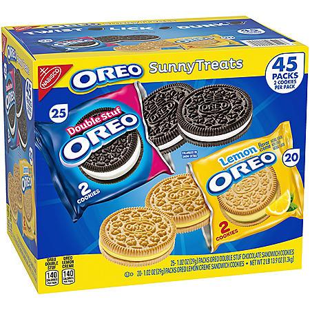 Oreo Sunny Treats Variety Pack (1.02oz / 45pk)