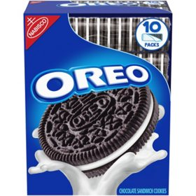 Nabisco Oreo Cookies (5.25 oz., 10 ct.)