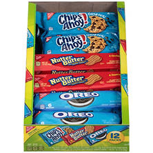 Nabisco Cookies, Variety Pack (1 3/4 oz. pks., 12 pks.)