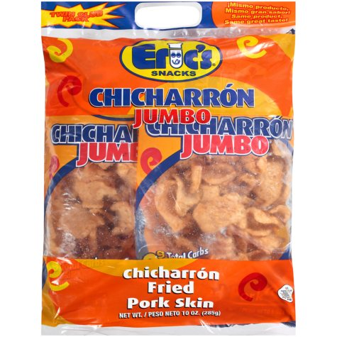 Eric's Jumbo Fried Pork Skins - 10 oz.