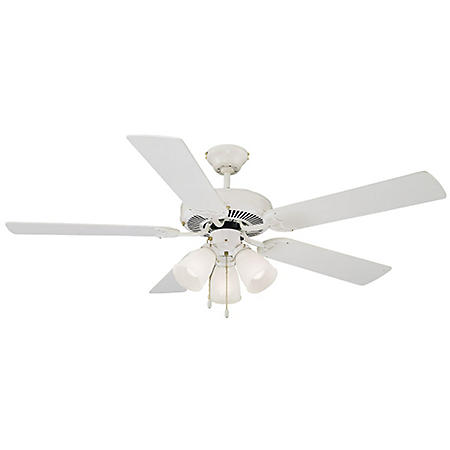 "Design House Millbridge 52"" Indoor Ceiling Fan - White"