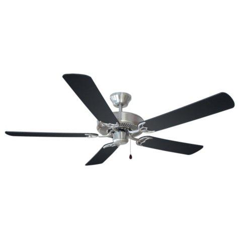 """Design House Millbridge 52"""" Indoor Ceiling Fan - Satin Nickel"""