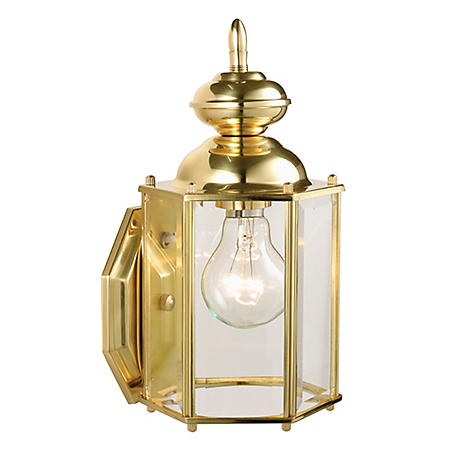 Augusta by Design House Outdoor Downlight - Solid Brass