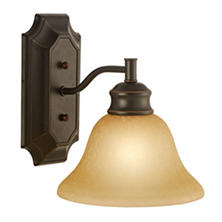 Bristol by Design House Wall Light - Oil Rubbed Bronze