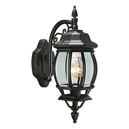 Canterbury by Design House Black Die-Cast Outdoor Downlight