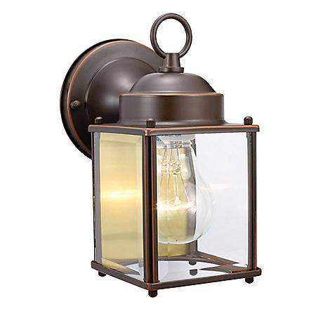Coach by Design House Oil Rubbed Bronze Outdoor Downlight